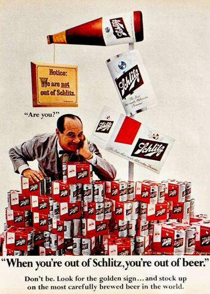 Wall Art - Photograph - Not Out Of Schlitz by Benjamin Yeager