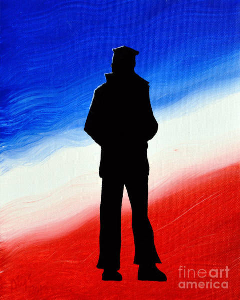 The Blues Brothers Painting - Not Self But Country by Alys Caviness-Gober