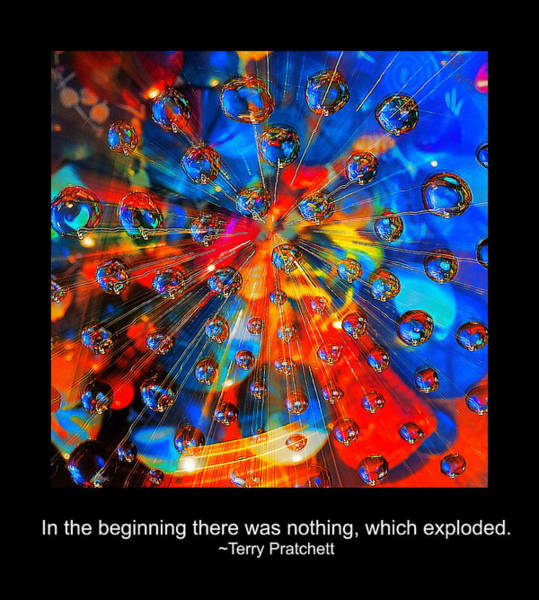 Photograph - Nothing Exploded by Rick Mosher