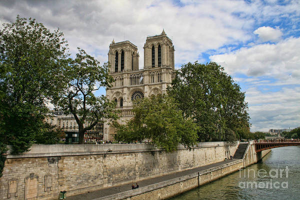 Photograph - Notre Dame Cathedral by Crystal Nederman