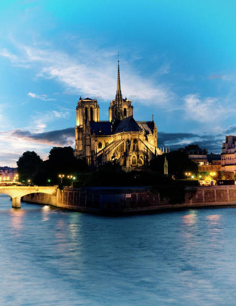Photograph - Notre Dame Cathedral by Jean-pierre Lescourret