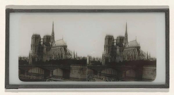Notre Dame Drawing - Notre-dame De Côté, Anonymous by Artokoloro