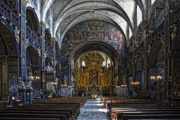 Notre Dame Photograph - Notre-dame-des-anges by Joachim G Pinkawa
