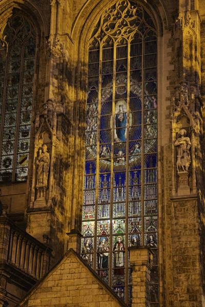 Photograph - Notre Dame Du Sablon by Joan Carroll