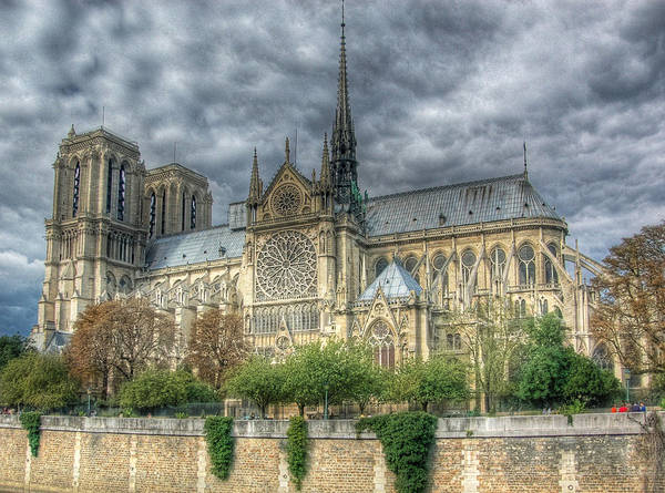 Photograph - Notre Dame by Michael Kirk