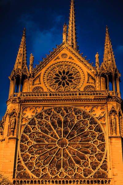 Digital Art - Notre Dame Motif by Ray Shiu