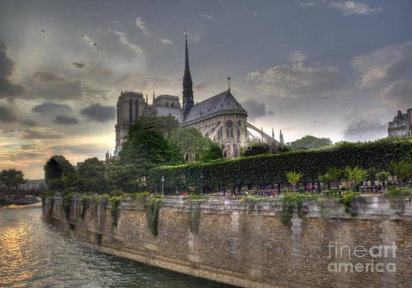 Photograph - Notre Dame On The Seine by Crystal Nederman