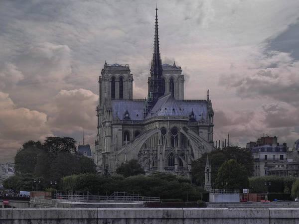 Notre Dame University Photograph - Notre Dame Paris by Joachim G Pinkawa