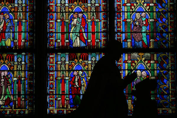 Photograph - Notre Dame Silhouette by Jenny Setchell