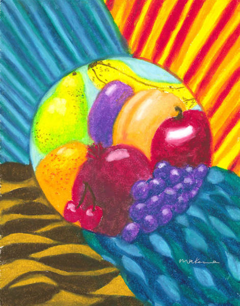 Painting - Nourished By The Elements by Carrie MaKenna