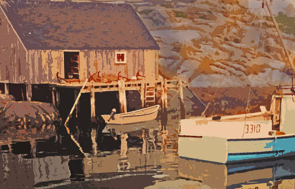 Halifax Nova Scotia Digital Art - Nova Scotia Dreaming by Ian  MacDonald