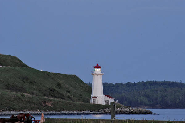 Photograph - Nova Scotia Lighthouse by Nancy De Flon