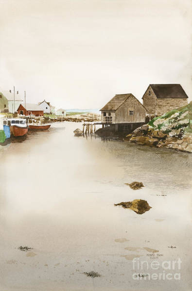 Nova Scotia Painting - Nova Scotia by Monte Toon