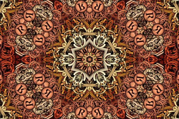 Kaleidoscope Wall Art - Digital Art - Nova Terra S01-01  by Variance Collections