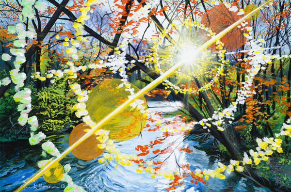 Painting - The Glorious River by Lynn Hansen