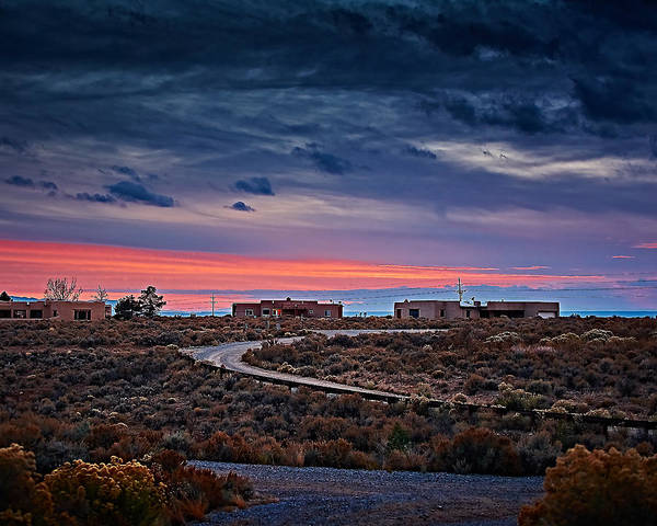 Photograph - November Sunset by Charles Muhle