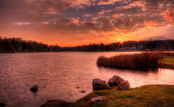 Photograph - November Sunset by David Dufresne