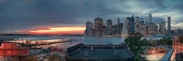 Photograph - November Sunset by S Paul Sahm