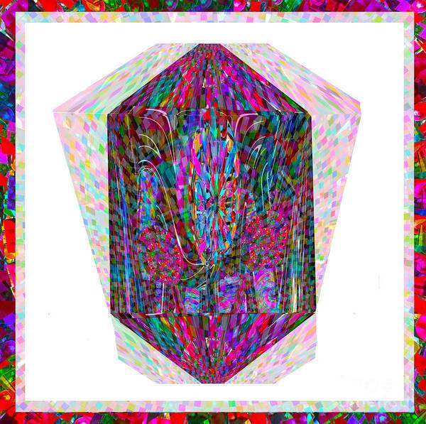 Digitalart Painting - Novino Hand Crafted Healing Crystal Stone  Design  Reiki Masters Choice by Navin Joshi