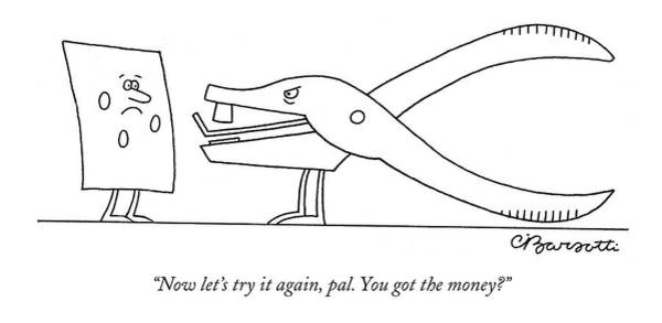 Inventions Drawing - Now Let's Try by Charles Barsotti