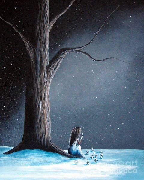 Wall Art - Painting - Now She Won't Be Alone By Shawna Erback by Erback Art