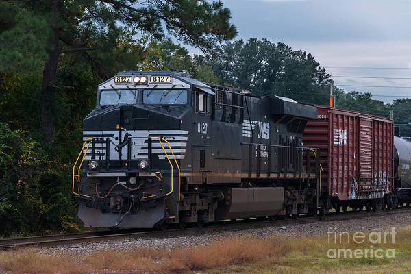Photograph - Ns 8127 Train by Dale Powell