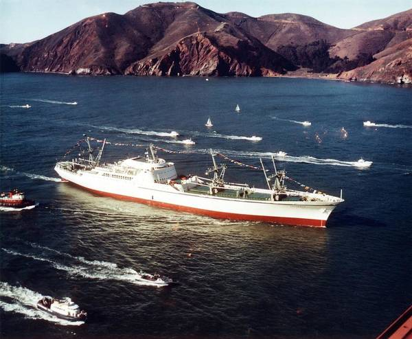 Ns Photograph - Ns Savannah by Us National Archives/science Photo Library