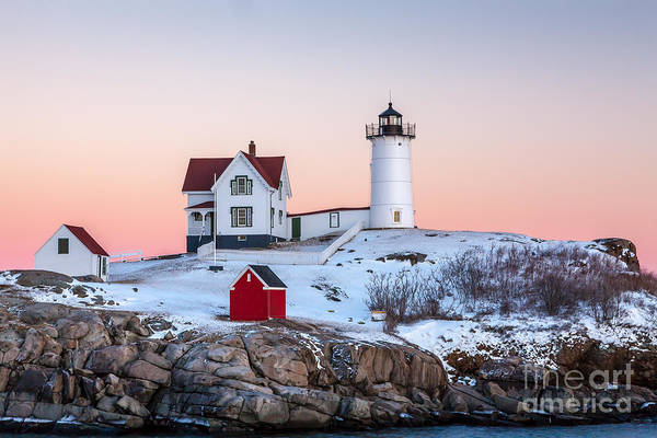 Wall Art - Photograph - Nubble Glow 2 by Susan Cole Kelly