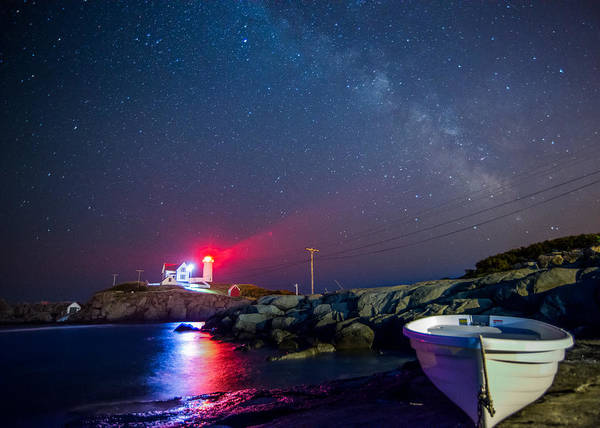 Photograph - Nubble Light by Bryan Xavier