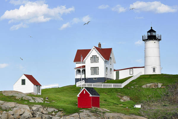 Photograph - Nubble Lighthouse by Joanne Brown