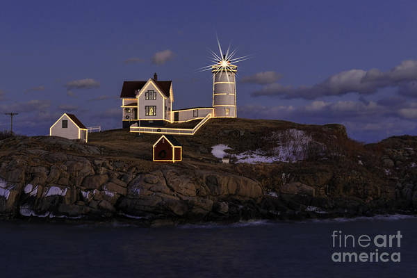 Photograph - Nubble Lighthouse Ll by Sharon Seaward