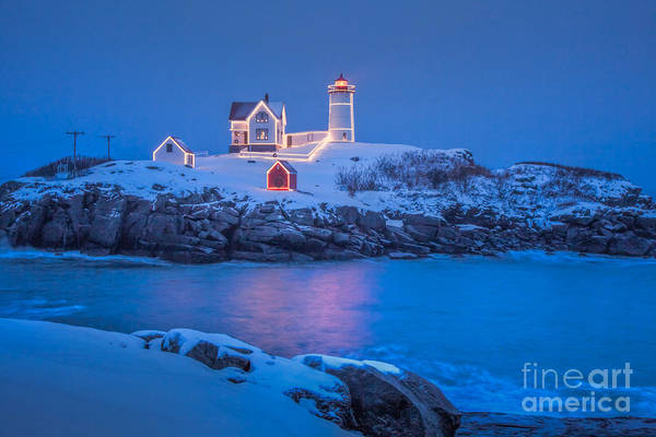 Photograph - Nubble Lights by Susan Cole Kelly