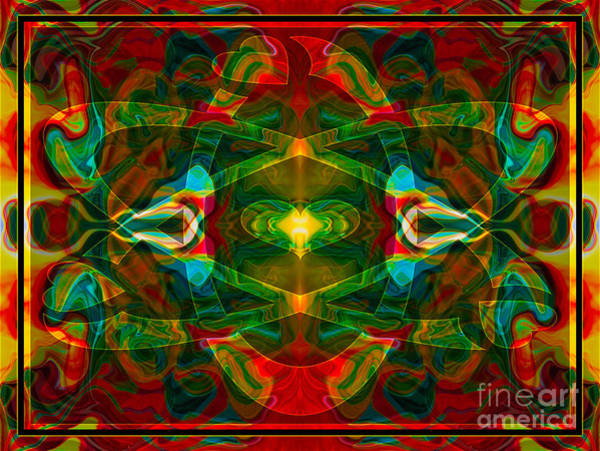 Digital Art - Nuclear Emotions Abstract Symbol Artwork By Omaste Witkowski  by Omaste Witkowski