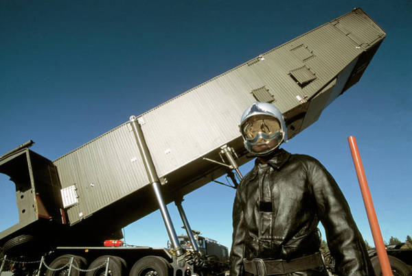 Transporter Wall Art - Photograph - Nuclear Missile Transporter by Philippe Psaila/science Photo Library