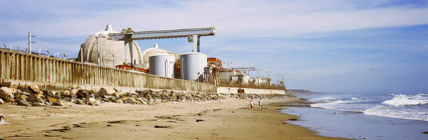 Controversial Photograph - Nuclear Power Plant On The Beach, San by Panoramic Images
