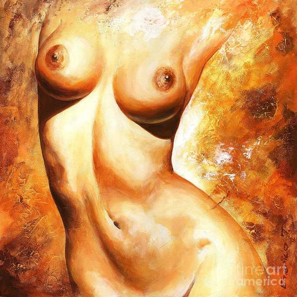 Wall Art - Painting - Nude Details by Emerico Imre Toth