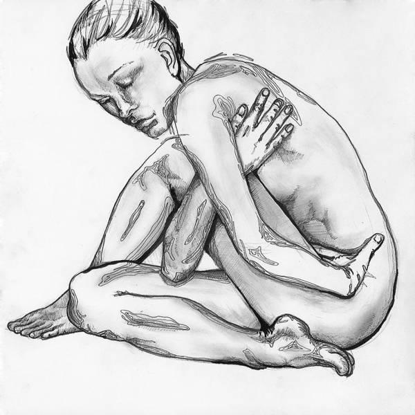 Digital Art - Nude Female 4 by Brian Kirchner