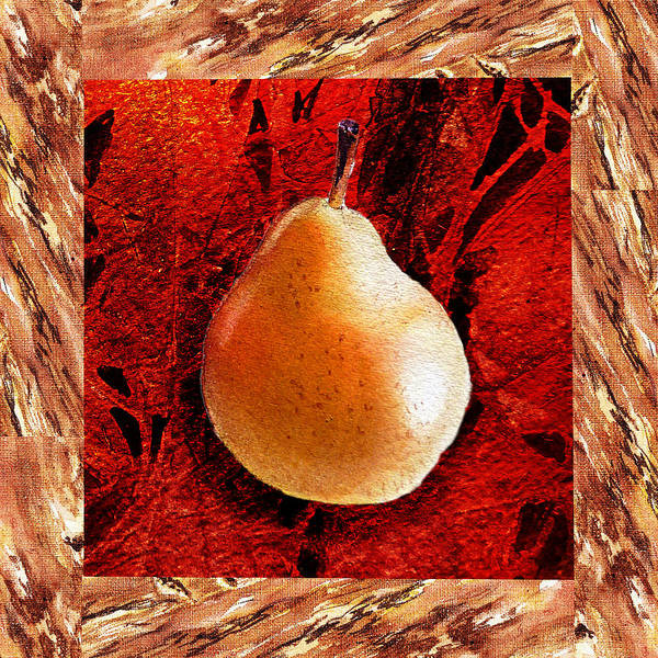 Wall Art - Painting - Nude N Beautiful Pear  by Irina Sztukowski