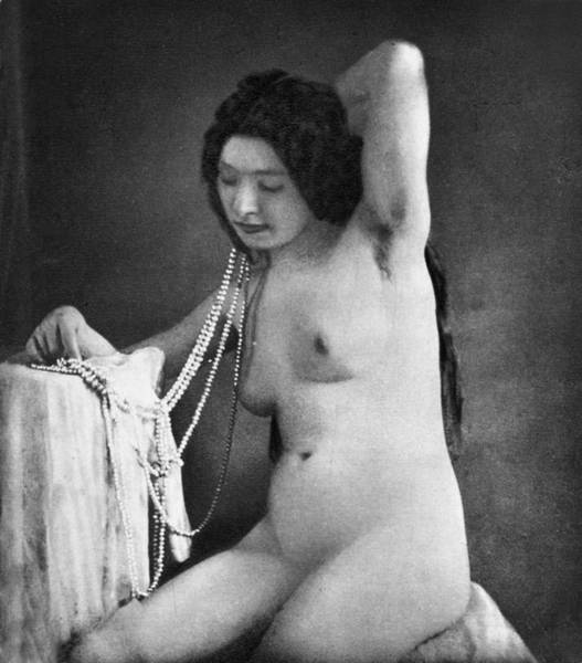 Photograph - Nude Posing, C1850 by Granger