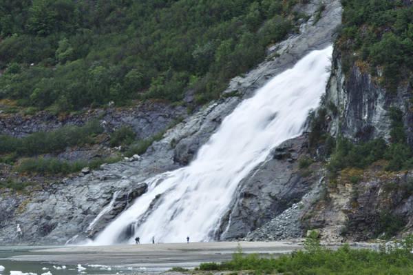 Photograph - Nugget Creek Falls by Walt Sterneman