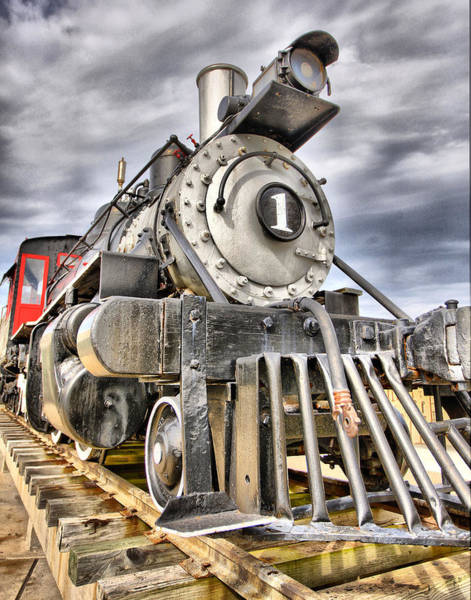 Photograph - Number 1 Locomotive by Charles McKelroy