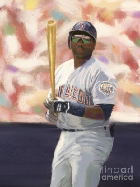 Hitter Painting - Number Nineteen by Jeremy Nash