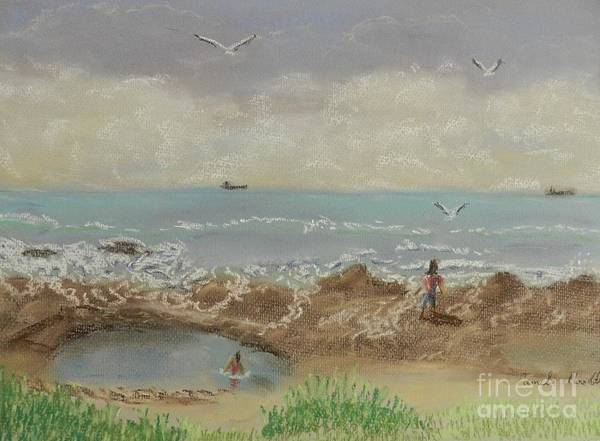 Wall Art - Painting - Nuns Pool Below Flagstaff Hill by Pamela  Meredith