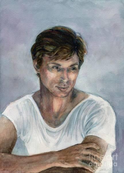 Painting - Nureyev by Lora Serra