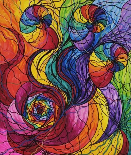 Sacred Painting - Nurture by Teal Eye Print Store