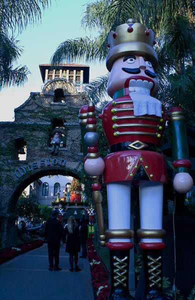 Photograph - Nutcracker Guarding The Mission Inn by Dorothy Cunningham