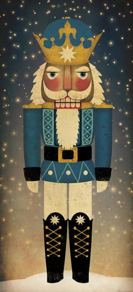 Holidays Painting - Nutcracker by Ryan Fowler
