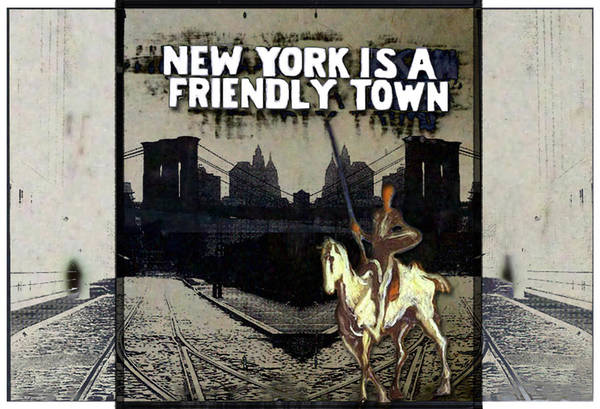 Photograph - Ny Is A Friendly Town by Natasha Marco