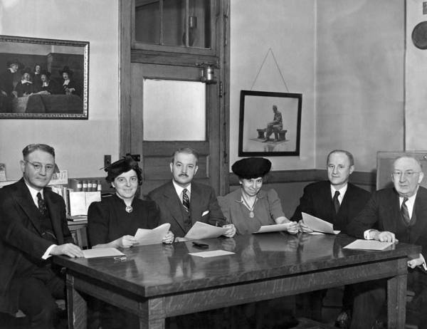 Appearance Photograph - Ny School Superintendents by Underwood Archives