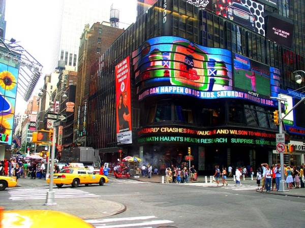 Photograph - Nyc Abc Studios Times Square by Cleaster Cotton